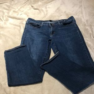 Gap straight cuff jeans